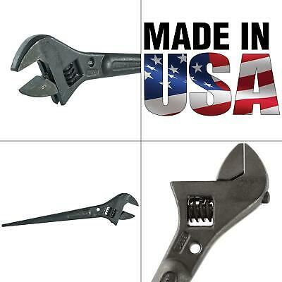 1-5/16 in. adjustable construction wrench | tools klein spud bolt hole nut nuts