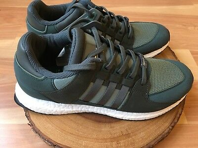 ADIDAS ORIGINALS EQT SUPPORT ULTRA BOOST BB1240 TRACE GREEN//UTILITY GREY//WHITE