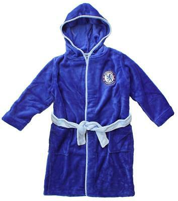 Chelsea kids dressing gown / Childrens bathrobe (childs boys robe pajamas pjs)