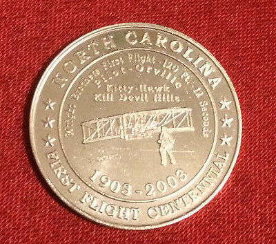 North Carolina First Flight Centennial  2003 Wright Brothers Commemorative Coin