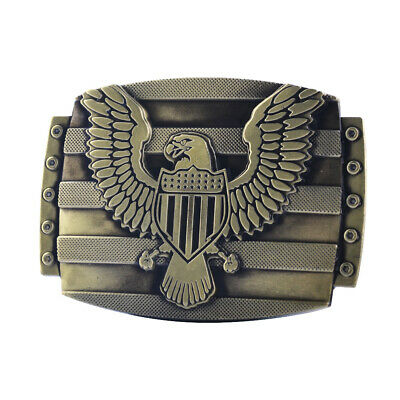 Flying Eagle Mens Vintage Cowboy Western Belt Buckle Replacement Alloy Metal