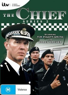 The Chief : Series 2 (DVD, 2-Disc Set) BRAND NEW SEALED