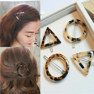 Fashion Leopard Hair Clip Bobby Pin Women Hairband Hairpin Barrette Comb Access