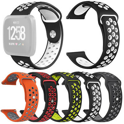 For Fitbit Versa Lite Small/Large Silicone Replacement Watch Band Wrist Strap