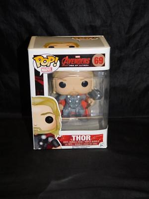 Funko Pop THOR 69 Marvel Avengers 2 Age of Ultron NEW Bobble Head Action Figure