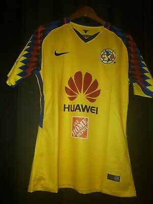93acd03e7b8 Nike Club America Official 2017 2018 Third Soccer Football Jersey Size M