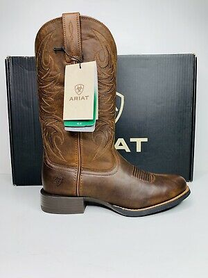 c1ffa6ddfb8 ARIAT MENS SPORT Horseman Cowboy Boot - Round Toe - EE Wide Size 8 10021700