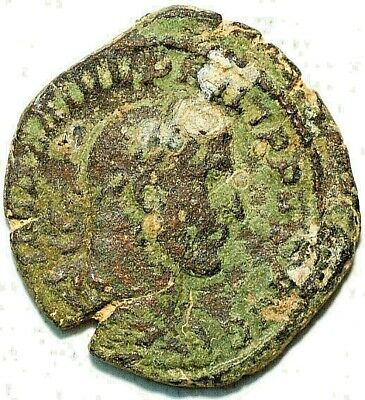 Ancient Roman coin Dupondus Imperator ND
