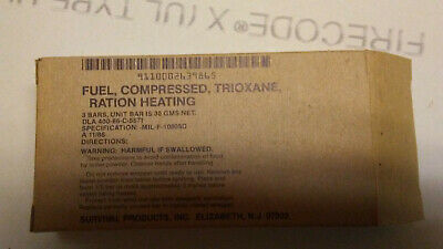 Fuel, Compressed, Trioxane, Ration Heating