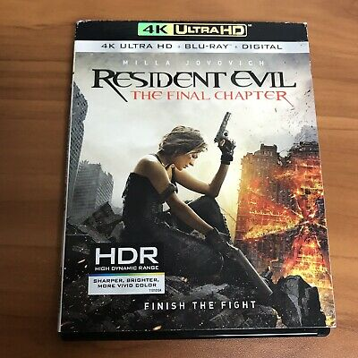 Resident Evil: The Final Chapter w/ Slipcover (4K Ultra HD/Blu-ray)