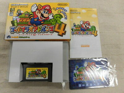 Z4625 Nintendo Gameboy Advance Super Mario Advance 4 Japan GBA w/box