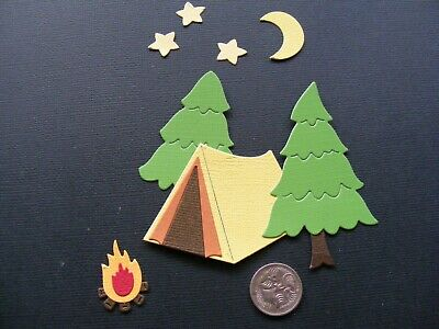 Die Cut Camping Oh So Cute