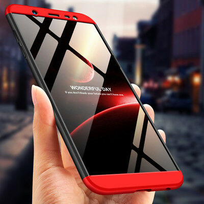Hybrid Shockproof Hard Case 360°Full Protection Cover For Samsung Galaxy J8 2018