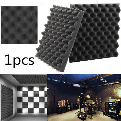 Soundproof Acoustic Sound Thick Absorption Pyramid Studio Foam Board 30X30X4cm