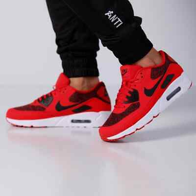 e31afff555 Nike Air Max 90 Ultra 2.0 Essential Lifestyle SIZE 9 University Red 875695 -604