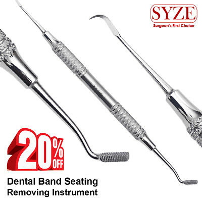 Dental Band Pusher Orthodontics Band Seater Scalers Placement Double Ended SYZE