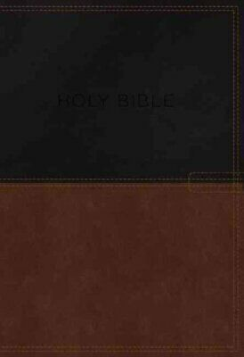 KJV, Know the Word Study Bible, Imitation Leather, Black/Brown, Red Letter...