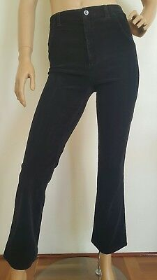 Retro/Y2K Corduroy High Waisted Cropped pants Y2K fashion Size S Free post
