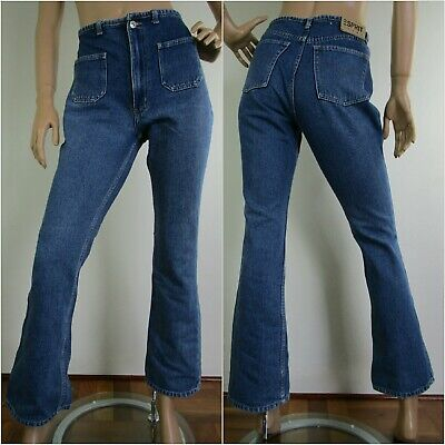 Vintage high waisted Y2K jeans Cropped Boot cut by Esprit Label size 29