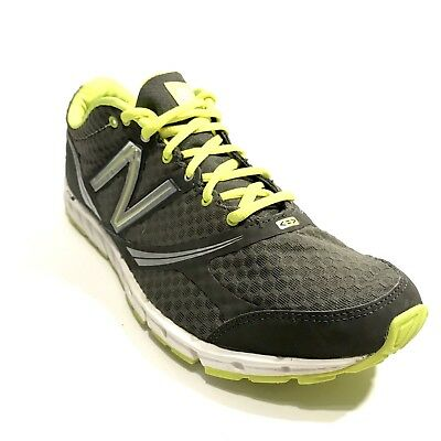 c2fbbd759ad6e New Balance Men's M730v2 Charcoal Yellow Running Shoe Size US 9 EU 42.5