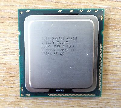 Intel Xeon X5650 6 Core Processor 2.66Ghz/12M/6.40 Slbv3 Socket Lga 1366