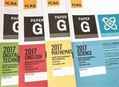 ICAS Past Papers Paper G (Year 9) with answers - 33 papers. Fast delivery
