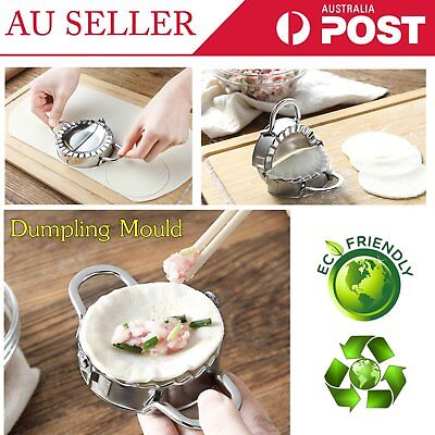 Eco-Friendly Pastry Tools Stainless Steel Dumpling Maker Cutter Mould 2018 WB#