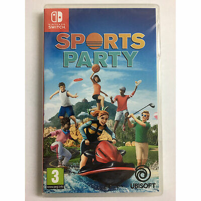 Sports Party (Nintendo Switch) New and Sealed