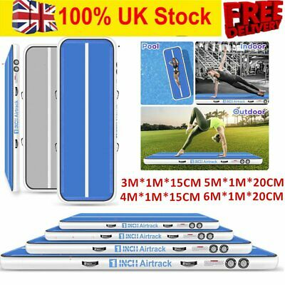 6m*20cm Inflatable Air Track Tumbling Gymnastic Mat Floor Home Training Mat NEW
