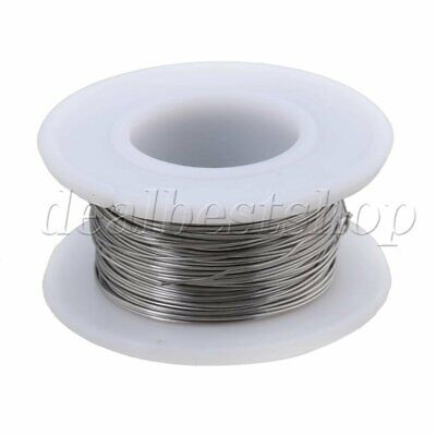 0.4mm Dia 20M 2080 Nichrome Wire Heating Elements Wire Resistance Silver