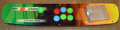 Control Panel for SAMMY Atomiswave Arcade Game Cabinet Japan 1PLY 6 Buttons