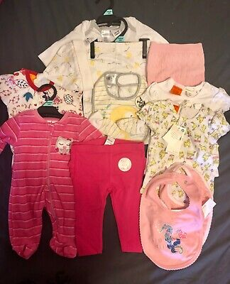 Bulk Baby Girl Newborn Clothes Brand New Size 0000-0