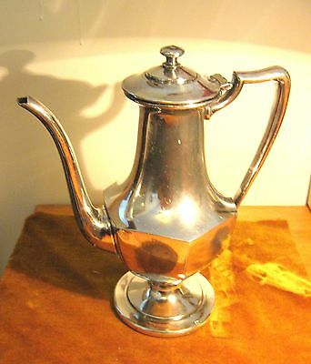 Antique P S Co. #2967 Silverplated Teapot