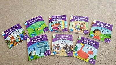 Oxford Reading Tree Songbirds Phonics Collection - Julia Donaldson - 48 Stories
