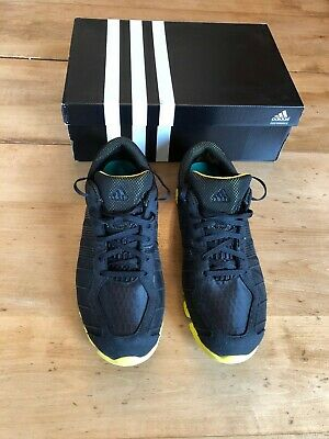 31ded3b637f ADIDAS Clima Cool Low Black   Yellow Mens Basketball Shoes Size 12 G46229  MINT