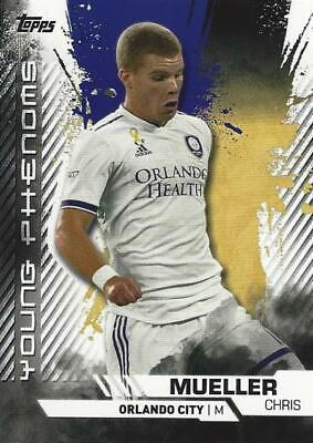 2019 Topps Major League Soccer 'Young Phenoms' Chase Insert Card - You Choose