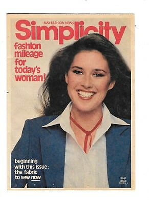 1979 Simplicity May Fashion News Pattern Pamphlet Sewing Lesson