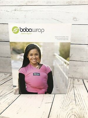 Boba Wrap Black Baby Wrap 0 36 Months One Size New 7 35 Lbs 15 95