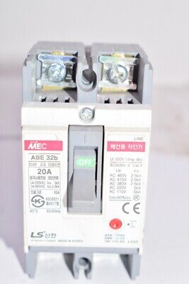 LS Industrial Systems ABE 32B, 20A, Circuit Breaker