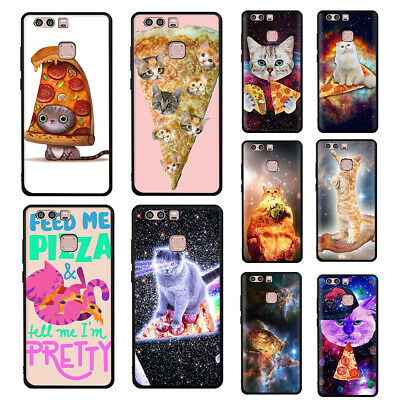 Pizza cat Soft TPU Case For Huawei P30 P20 P10 P9 P8 Lite P Smart