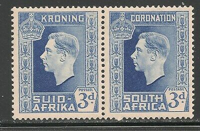 South Africa #77 (A22) VF MINT LH - 1937 3p King George VI - Coronation