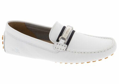 Lacoste Ansted 119 1 U CMA Men/'s Driving Leather Moccasins Black 7-37CMA00721B