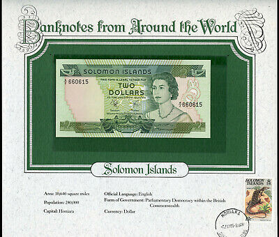 Solomon Islands $2 Dollars ND 1977 UNC - Banknotes from Around the World