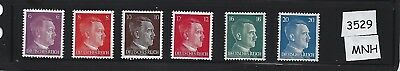 MNH Adolph Hitler Stamp set / 1941 Third Reich issues / MNH / Nazi Germany