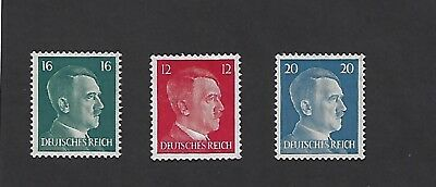 MNH Adolph Hitler Stamp set / 1941 Third Reich issues / MNH / With free holder!