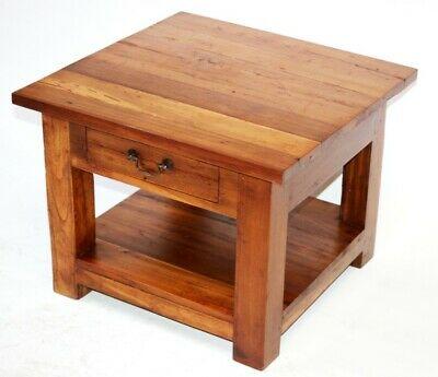 Vintage Solid Ash Coffee Table - FREE Shipping [PL5054]