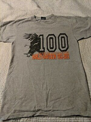 697f20ca Vintage Harley Davidson Tee Shirt 100 Years of Excellence 1903 - 2003 Small