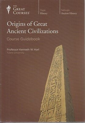 Origins of Great Ancient Civilizations ~ The Great Courses~ Factory Sealed~ DVDs