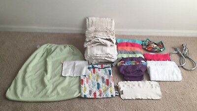 Cloth Diaper Lot And Extras!