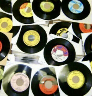 Lot Of 36 45RPM 50s 60s Oldies Pop Soul Jukebox ALL GENRES Random Vinyl Record